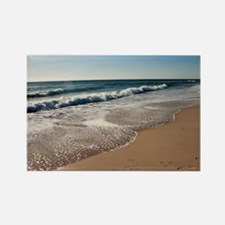 New Jersey beach Rectangle Magnet