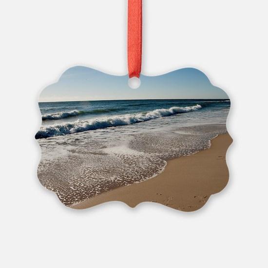 New Jersey beach Ornament
