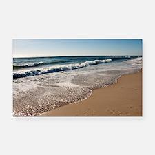 New Jersey beach Rectangle Car Magnet