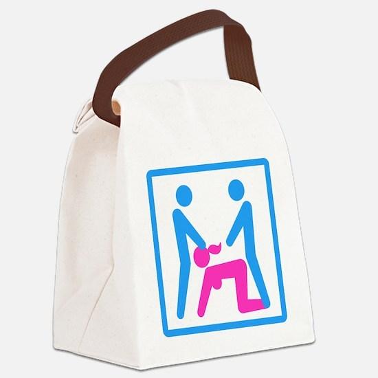 Kamasutra - Menage a Trois (MFM) Canvas Lunch Bag