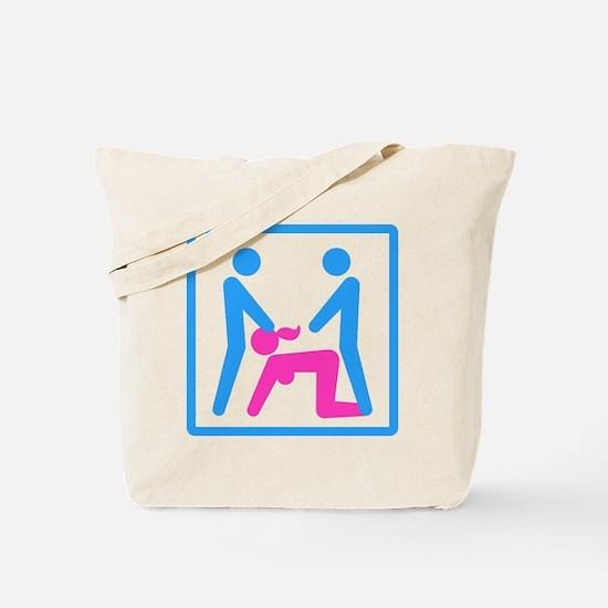 Kamasutra - Menage a Trois (MFM) Tote Bag