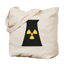 Nuclear Smokestack Tote Bag