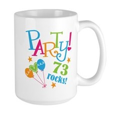 73rd Birthday Party Mug