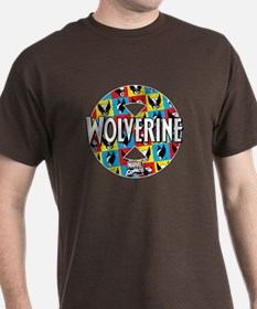 Wolverine Circle Collage T-Shirt