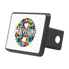 Wolverine Circle Collage Hitch Cover