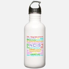 NCIS TV Water Bottle