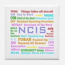 NCIS TV Tile Coaster