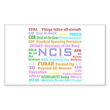 NCIS TV Decal
