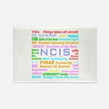 NCIS TV Rectangle Magnet