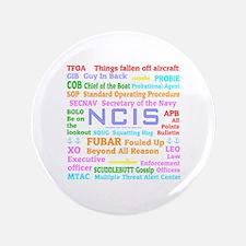 """NCIS TV 3.5"""" Button"""