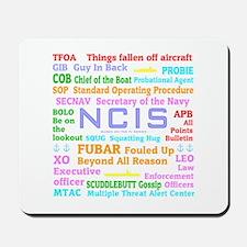 NCIS TV Mousepad