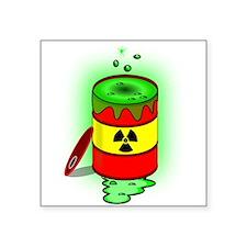 Toxic Spill Barrel Sticker