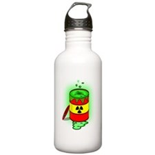 Toxic Spill Barrel Sports Water Bottle