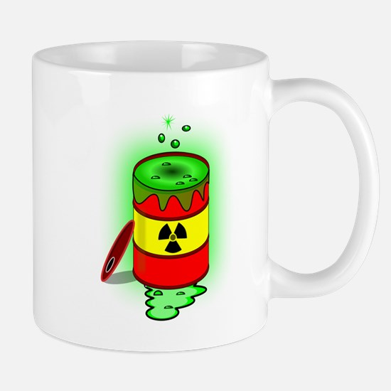 Toxic Spill Barrel Mugs