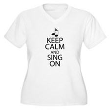 Choir Sing Penguin Music T-Shirt