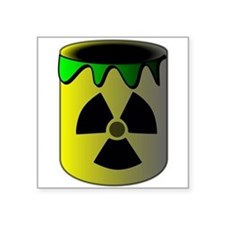 Nuclear Waste Barrel Sticker
