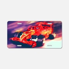 F1 Racer Aluminum License Plate