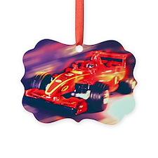 F1 Racer Ornament