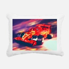 F1 Racer Rectangular Canvas Pillow
