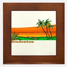 Bradenton, Florida Framed Tile