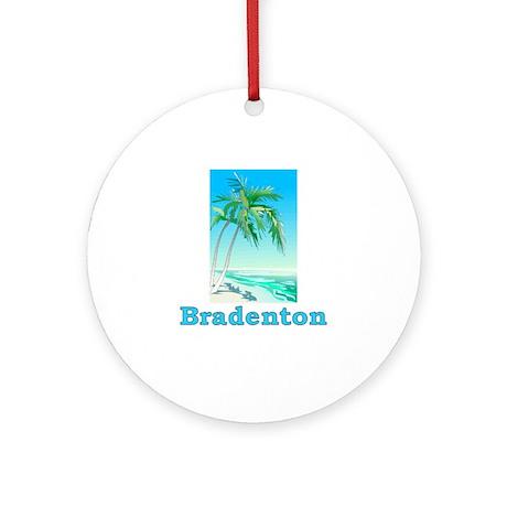 Bradenton, Florida Ornament (Round)