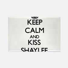 Keep Calm and kiss Shaylee Magnets