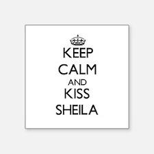 Keep Calm and kiss Sheila Sticker