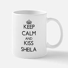 Keep Calm and kiss Sheila Mugs