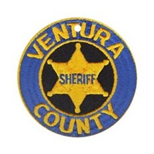 Ventura County Sheriff Ornament (Round)