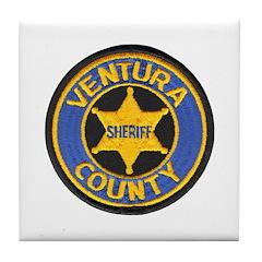 Ventura County Sheriff Tile Coaster