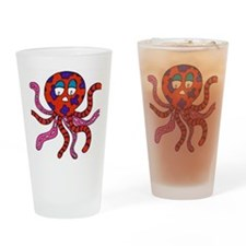 Octopus Drinking Glass