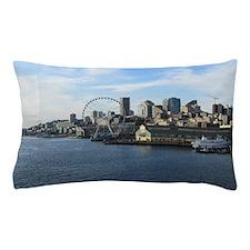 Seattle Coastline Pillow Case