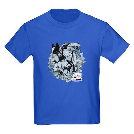 Wolverine Pose Kids Dark T-Shirt