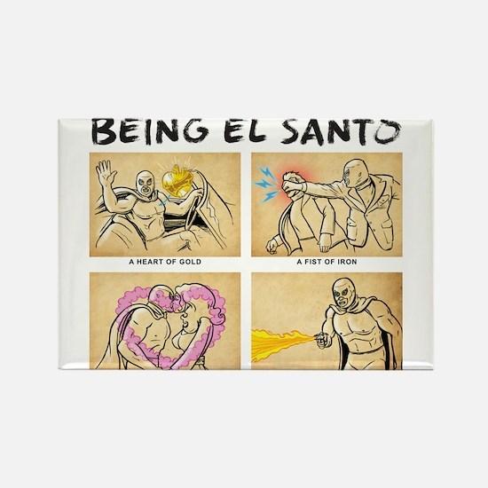 Being El Santo Magnets