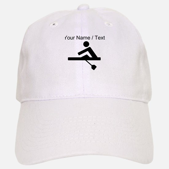 Custom Rowing Crew Pictogram Baseball Baseball Cap