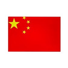 China Flag Rectangle Magnet