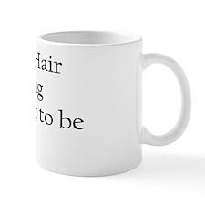 If nappy hair is wrong Mug