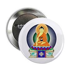 Colorful Buddha Button