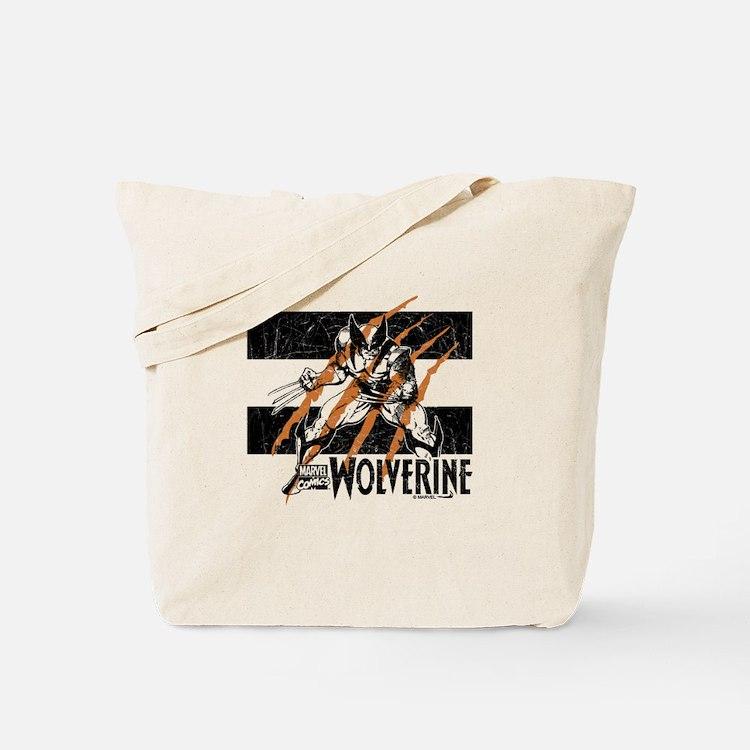 Wolverine Scratch Tote Bag