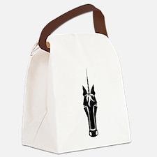 Unicorn Face Canvas Lunch Bag