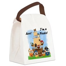 Arrr I'm a Pirate Canvas Lunch Bag