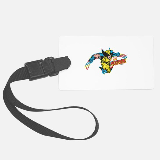 Wolverine Attack Luggage Tag