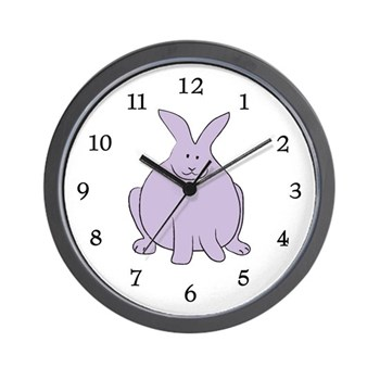 Big Bunny Wall Clock