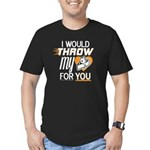I Would Throw My Pie f Men's Fitted T-Shirt (dark)