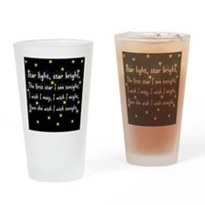Star Light Kids Rhyme Drinking Glass