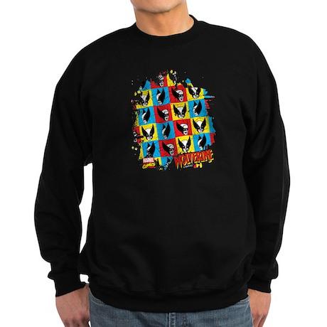 Wolverine Collage Sweatshirt (dark)