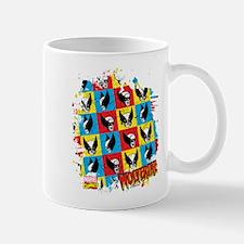 Wolverine Collage Mug