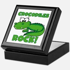 Crocodiles Rock Keepsake Box