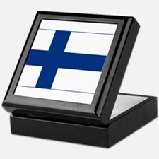 Finland Flag Keepsake Box