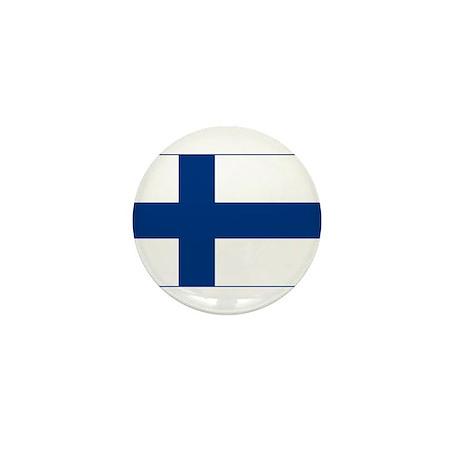 Finland Flag Mini Button (10 pack)